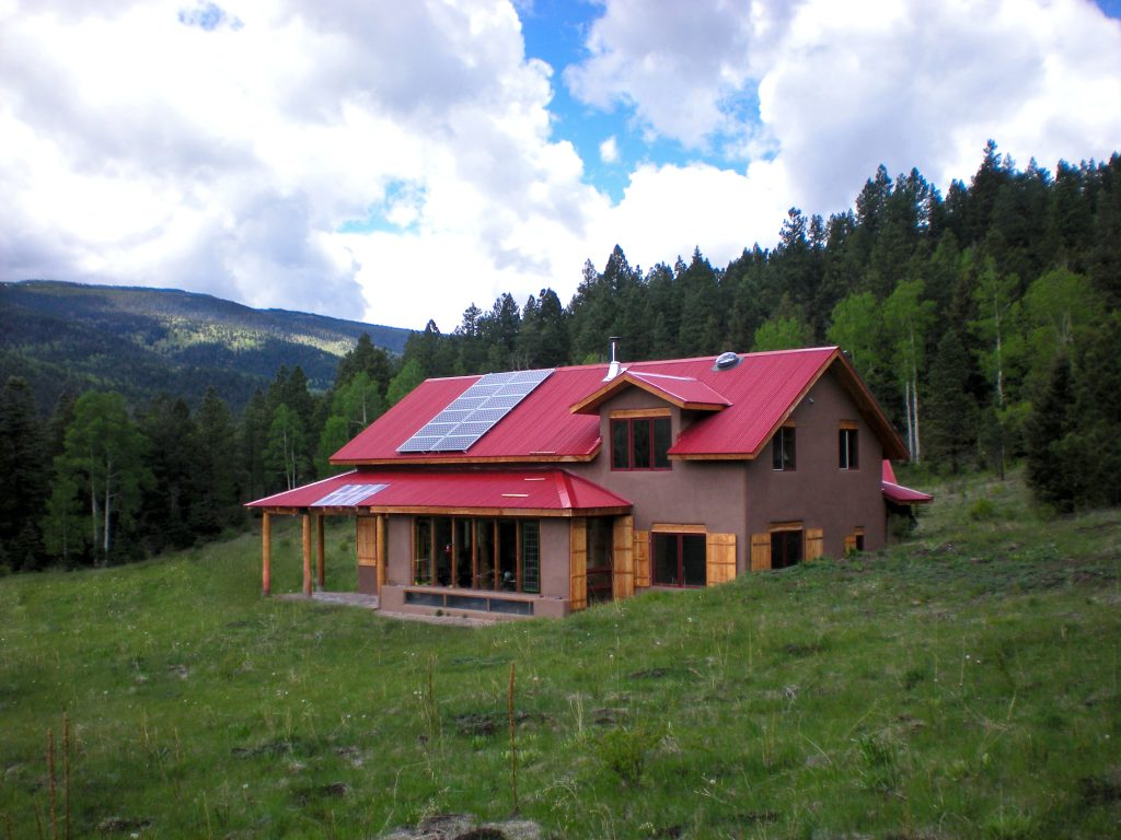 ECC Solar PV off-grid roof mount